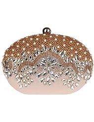 Diamante del banquete de boda del bolso de tarde del embrague de baile Bolsas Embragues Box