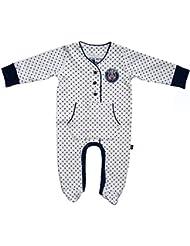 """Pyjama Grenouillère - Collection officielle PSG - PARIS SAINT GERMAIN - Bébé Puericulture football """" Supporter """" - Ligue 1"""