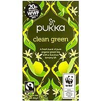 Pukka Hierbas Clean Green Tea 20 por paquete