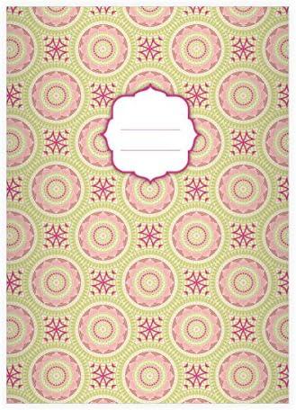 32 cool cahiers ethnologiques, avec avec avec avec fleurs en style Boho, vert, A4 (29,7x21; 32p), cahiers de notes/ carnets de notes, linéatur 20 (pages blanches) | La Conception Professionnelle  6db731