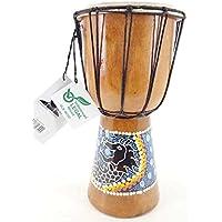20cm Djembe Bongo Tambor Drum Yembe Nino Dragon