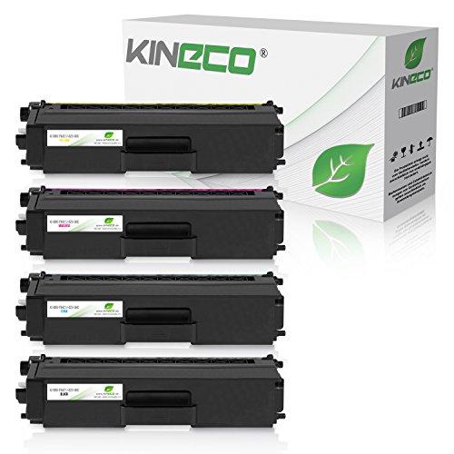 Preisvergleich Produktbild Kineco 4 Toner kompatibel zu Brother TN-421 TN-423 für Brother HL-L8260CDW HL-L8360CDW DCP-L8410CDN L8410CDW MFC-L8690CDW