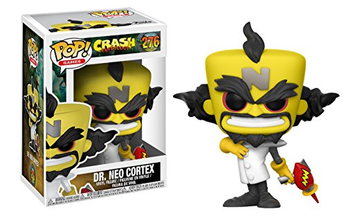 Figurine Pop Crash Bandicoot Dr Neo Cortex