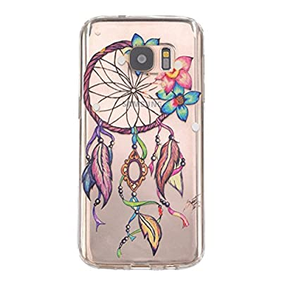 Samidy Galaxy S7 Case, Slim Flexible Case for Samsung Galaxy S7 with a Screen Protector