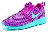 Nike Roshe One Flight Weight (GS), Zapatillas de Deporte para Niñas, Morado Violet/Hyper Turq, 36 EU