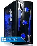 Ankermann-PC PHANTHER, Intel Core i7-6700K 4x4.00GHz Skylake, MSI B150M NIGHT ELF, MSI Radeon RX 470 Gaming X 8GB, 8GB DDR4 PC-2133, 2000 GB Festplatte, Microsoft Windows 10 Home 64Bit (Deutsch), EAN 4260219654739
