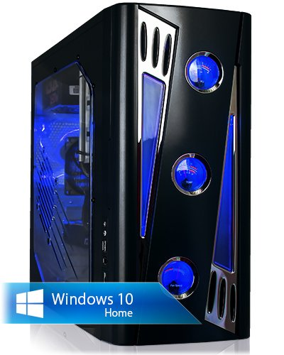 Preisvergleich Produktbild Ankermann-PC Ultimate PHANTHER, Intel Core i7-6700K 4x4.00GHz Skylake, Zotac GeForce GTX 1060 3GB, 8GB DDR4 PC-2133, 250GB SSD, Microsoft Windows 10 Home 64Bit (Deutsch), EAN 4260219657174