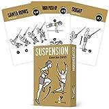 Cartes d'exercice de suspension-Tableau de la musculation-développer les muscles, la tonalité et Renforcez la-Home Gym Poids résistance entraînement Routine-Total Body Fitness Guide