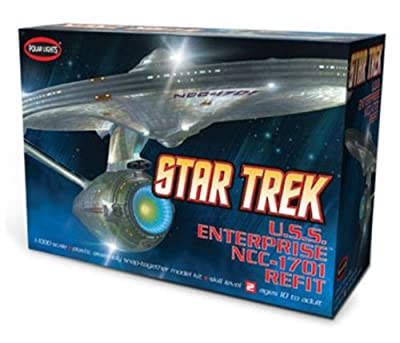 Star Trek U.s.s. Enterprise Ncc-1701 Refit Polar Lights Snap Kit 1:1000 von Polar Lights