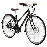 Bobbin Black Orchid 8 Speed Hybrid Bike 700c Wheel 47cm Frame Black