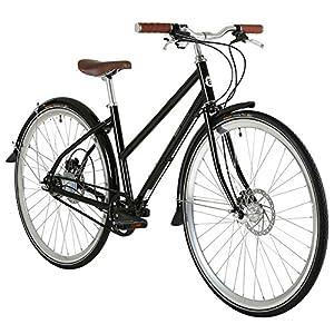 514X bOhuwL. SS300  - Bobbin Black Orchid 8 Speed Ladies Hybrid Bike - 43cm