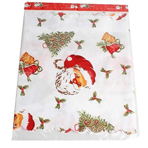 Snner Weihnachten Tischläufer Classic Red Weihnachtsmann Tapisserie Weihnachten Hut Druck Tischläufer Für Weihnachten Home-Party-Deko Red Hats Classic Hut