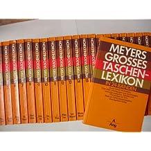 Meyers Großes TaschenLexikon. 24 Bände [Grosses Taschen-Lexikon]
