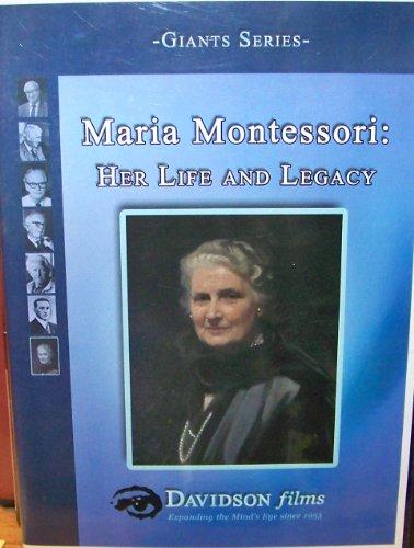 Maria Montessori Her Life and Legacy Davidson Films Giants Series DVD