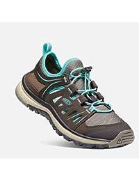 Zapato KEEN Versatrail (Ni?o / Ni?o peque?o), Negro / Verde jazm¨ªn, 9 M EE. UU. Ni?o peque?o