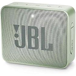 JBL GO 2 - Mini Enceinte Bluetooth portable - Étanche pour piscine & plage IPX7 - Autonomie 5hrs - Qualité audio JBL - Menthe