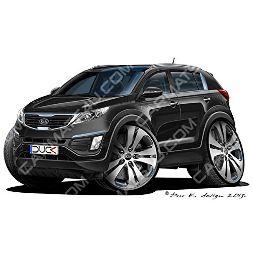 kia-sportage-mk3-vinyl-wall-art-sticker-black