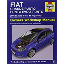 Fiat Grande Punto. Punto Evo & Punto Petrol Owners Workshop Manual (Haynes Service and