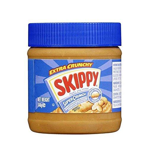 Skippy beurre cacahuetes super crunch 340g - ( Prix Unitaire ) - Envoi Rapide Et Soignée