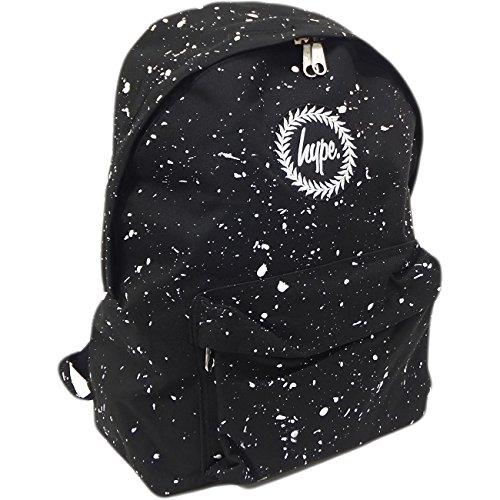 Just Hype Hype bag kit (Splatter), Borsa a spalla uomo Taglia Unica Black / White