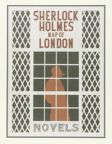 Sherlock Holmes Map of London. Novels por Arthur Conan Doyle