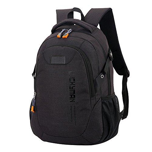 SamMoSon Schulrucksack Damen Herren Backpack Schultaschen Backpacker Rucksack Großer Kapazität Laptoptaschen Student Tasche Freizeit Reisetasche Schultasche Daypack Rucksäcke