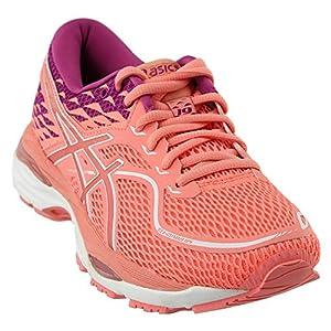 514X5EkqDYL. SS300  - ASICS Women's Gel-Cumulus 19 Running Shoe Pink, 6 B(M) US