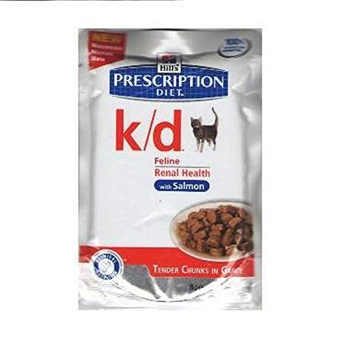 HILL'S PRESCRIPTION DIET Bustina Cat K/D Salmone Alimenti Gatto Umido Diete