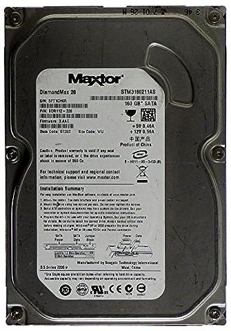 Maxtor Disque dur SATA ID12397 STM3160211AS DiamondMax