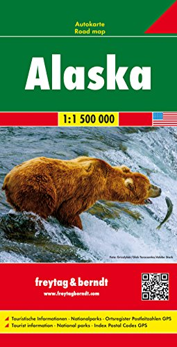 Alaska 1:1.500.000 mapa de carreteras. Freytag & Berndt. por VV.AA.