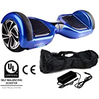 "Babycoches - Hoverboard, Patinete Electrico, smart balance, T6, Ruedas 6,5"", Color Azul"