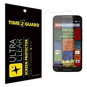 Time 2 Guard Ultra Clear Screen Protector For Motorola Moto X (2nd Gen) XT1092