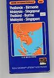 Carte routière : Série Internationale : Thaïlande - Birmanie - Malaisie - Singapour, N°350