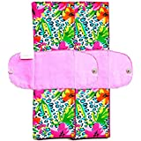 Eco Femme - Vibrant Range - Foldable Pad - Pack Of 2 - Reusable Sanitary Pads/Cloth Menstrual Pads/Washable Cloth...