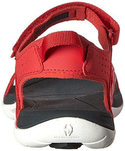 Teva W Verra, Sandales de randonnée femme Rouge - Red (Bsrd)
