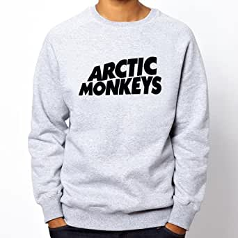 Arctic Monkeys Grey Sweatshirt - Retro J23 (S)