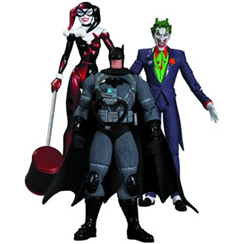 DC BATMAN HUSH: THE JOKER, STEALTH BATMAN & HARLEY QUINN ACTION FIGURE 3-PACK