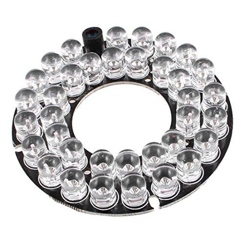 Red 36-LED Infrared Bulbs 60 Degree CCTV Security Camera IR Board Repair Parts