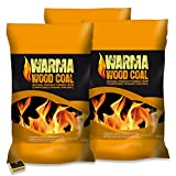 Warma® Wood Coal New Smokeless Fuel Provides Long Lasting Burn For Open Fires, Multi-Fuel Stoves & Tigerbox® Safety Matches