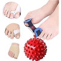 5in 1Distanzhülsen Fuß Massage Ball Corrector & entzündeten Fußballen Relief Displayschutzfolie Ärmel preisvergleich bei billige-tabletten.eu