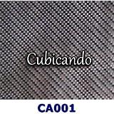 CUBICANDO - Pellicola per cubicatura- Effetto Carbonio Reale - lunghezza-1-mt