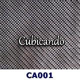CUBICANDO - Pellicola per cubicatura Carbonio 1 - lunghezza-1-mt