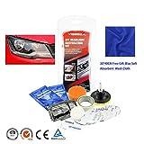 Scheinwerfer-Wiederherstellung-Kit, für KFZ-Scheinwerfer, Aufheller-Kit, Polier-Werkzeuge für Lampenschirm-Kratzer, Scheinwerfer-Reparatur-Beschichtung, Aufheller für alle Autos