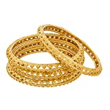 The Luxor Daily Wear Gold Plated Bangles...