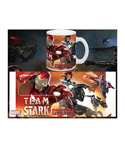 Preisvergleich Produktbild Tasse Captain America: Civil War - Team Stark - Marvel