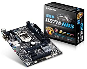 Gigabyte GA-H87M-HD3 Intel® H87 Express Chipset Socket H3 (LGA 1150) Micro ATX motherboard - motherboards (DIMM, DDR3-SDRAM, Dual, Intel, Celeron, Core i3, Core i5, Core i7, Pentium, Socket H3 (LGA 1150))