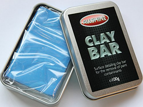 """Price comparison product image All Shine 100g Clay Bar Car Paint Cleaner """"Our Best Seller"""" Easy Paint & Glass contamination Remover For Industrial Fallout,  Over-spray & Rail Dust"""