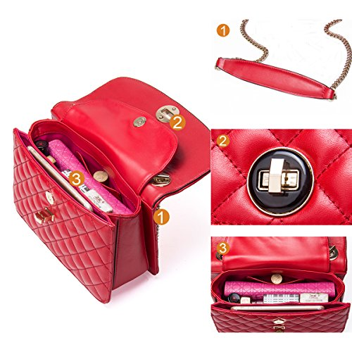 Contacts, Borsa a tracolla donna Rose Red