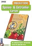 Produkt-Bild: Druckstudio für Speise- & Getränkekarten