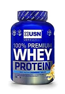 USN 100% Premium Whey Protein Shake Powder - 2.28 kg, Banana Cream